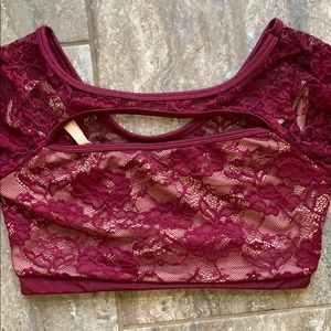 Other - Lace dance top